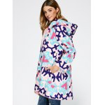 Chinese Style Hooded Embroidery Woolen Blend Coat for sale