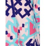 Chinese Style Hooded Embroidery Woolen Blend Coat photo