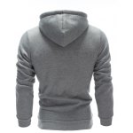 Inclined Single Breasted Patchwork Hoodie deal