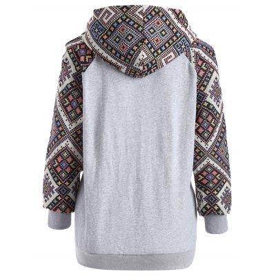 Jacquard Drawstring Pullover HoodieSweatshirts &amp; Hoodies<br>Jacquard Drawstring Pullover Hoodie<br><br>Material: Cotton Blend<br>Clothing Length: Regular<br>Sleeve Length: Full<br>Style: Fashion<br>Pattern Style: Geometric<br>Season: Fall,Spring,Winter<br>Weight: 0.420kg<br>Package Contents: 1 x Hoodie