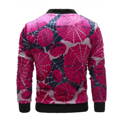 zip-up-spider-web-print-halloween-jacket