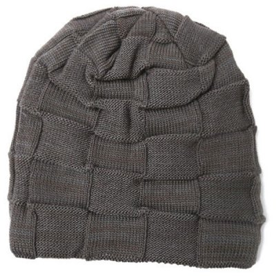 Outdoor Warm Basket Weave Knitted Beanie