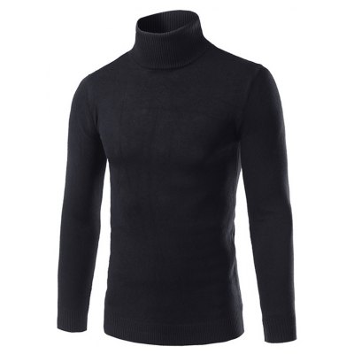 Roll Neck Pullover Sweater