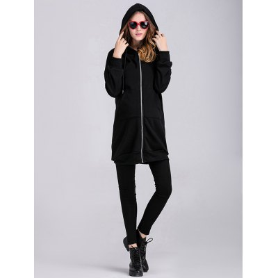 thicken-applique-zipped-maternity-hoodie