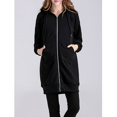 Thicken Number 15 Applique Maternity Hoodie