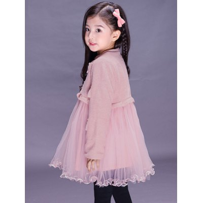 Kids Long Sleeve Bowknot Mini Ball Gown DressGirls Clothing<br>Kids Long Sleeve Bowknot Mini Ball Gown Dress<br><br>Style: Cute<br>Material: Polyester<br>Silhouette: Ball Gown<br>Dresses Length: Mini<br>Neckline: Stand<br>Sleeve Length: Long Sleeves<br>Embellishment: Bowknot<br>Pattern Type: Patchwork<br>With Belt: No<br>Season: Fall,Spring<br>Weight: 0.302kg<br>Package Contents: 1 x Dress