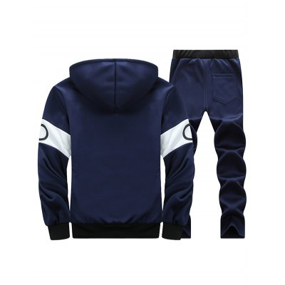Graphic Flocking Hoodie and Drawstring Pants TwinsetMens Hoodies &amp; Sweatshirts<br>Graphic Flocking Hoodie and Drawstring Pants Twinset<br><br>Material: Cotton Blends<br>Clothing Length: Regular<br>Sleeve Length: Full<br>Style: Casual<br>Weight: 1.132kg<br>Package Contents: 1 x Hoodie  1 x Pants