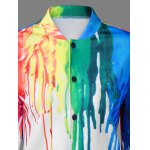 Paint Drip Bomber Jacket for sale