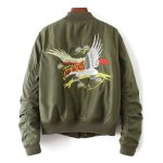Quilted Souvenir Bomber Jacket deal