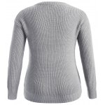 cheap Pullover Plus Size Sweater