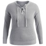 Pullover Plus Size Sweater