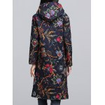 Ethnic Style Paint Quilted  Jacket deal