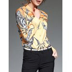cheap Painting Slim  Fit Shirt