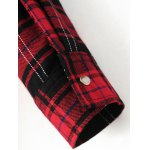 best Plaid Dragon Embroidery Shirt