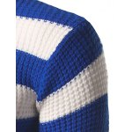 Slim Fit Roll Neck Striped Sweater for sale