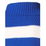 Slim Fit Roll Neck Striped Sweater deal