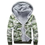 Camo Flocking Hoodie and Drawstring Pants Twinset deal