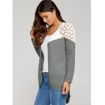 Lace Patchwork High Low Cardigan deal