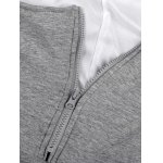 best Thicken Number Applique Maternity Hoodie