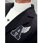 best Single Breasted Lapel Collar A Patch Coat