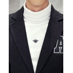 Single Breasted Lapel Collar A Patch Coat for sale