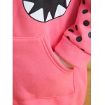 best Graphic Hooded Pockets Coat