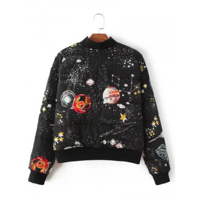 starry-sky-print-quilted-jacket