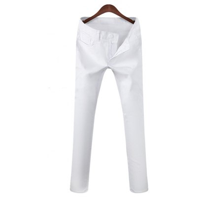 Mid Rise Pocket Casual Pants