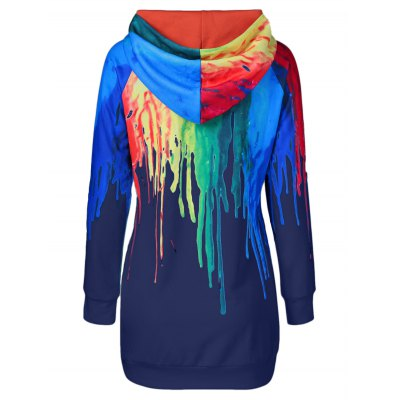 Oil Paint Over Print HoodieSweatshirts &amp; Hoodies<br>Oil Paint Over Print Hoodie<br><br>Clothing Length: Long<br>Material: Polyester<br>Package Contents: 1 x Hoodie<br>Pattern Style: Print<br>Season: Fall, Spring<br>Sleeve Length: Full<br>Style: Fashion<br>Weight: 0.560kg