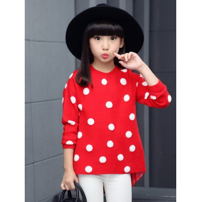 Pullover Polka Dot Sweater