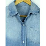 best Button Up Washed Denim Shirt