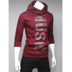 cheap Pocket Front Graphic Pullover Hoodie