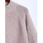 Pocket Side Slit Ribbed Sweater deal