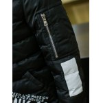 best Stand Collar Graphic Printed Cotton Padded Jacket