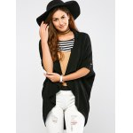 cheap Knitted Draped Front Cardigan