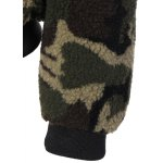 best Camouflage Hooded Fuzzy Jacket
