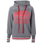 Active Letters Pattern Drawstring Hoodie