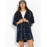 High Low Checked Wool Coat deal