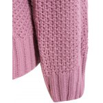 Cable Knit Plus Size Pullover Sweater for sale