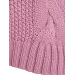 best Cable Knit Plus Size Pullover Sweater