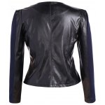 cheap PU Leather Plus Size Biker Jacket