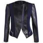 PU Leather Plus Size Biker Jacket