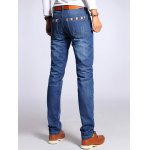 best Straight Leg Selvage Design Jeans in Taper Fit