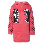 Graphic Hooded Pockets Coat
