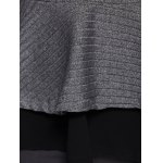 best Skinny Skirted Pullover Sweater