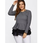 Skinny Skirted Pullover Sweater deal
