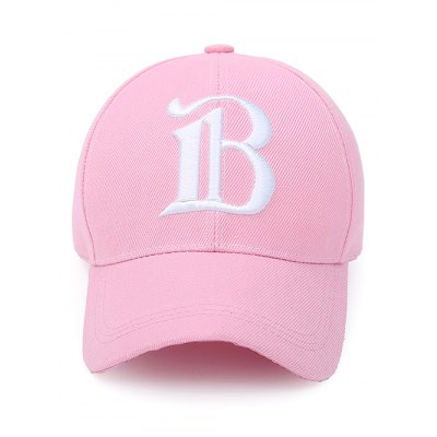B Letter Embroidery Baseball Cap