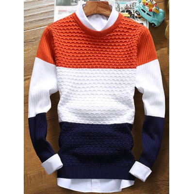 Ribbed Texture Sweater