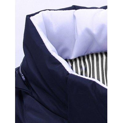 Zip Up Striped Hooded Padded JacketMens Jackets &amp; Coats<br>Zip Up Striped Hooded Padded Jacket<br><br>Clothes Type: Padded<br>Clothing Length: Regular<br>Collar: Hooded<br>Material: Cotton, Polyester<br>Package Contents: 1 x Jacket<br>Season: Winter<br>Sleeve Length: Long Sleeves<br>Style: Casual<br>Weight: 0.765kg