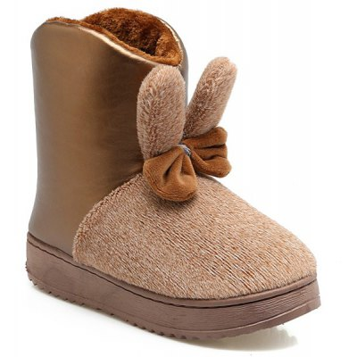 Bowknot Snow Boots